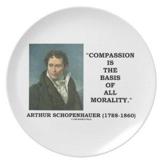 La compasión es la base de la moralidad plato