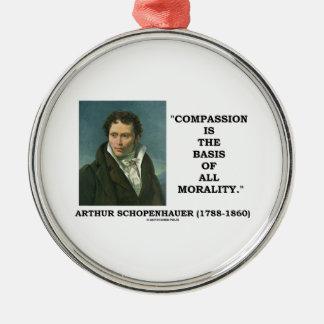 La compasión es la base de la moralidad Schopenhau Ornamentos Para Reyes Magos