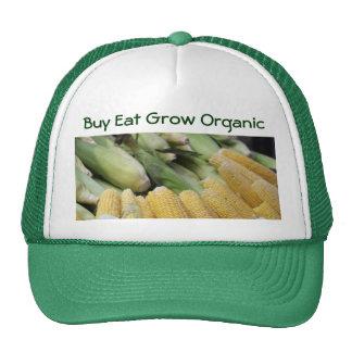 La compra come crece el gorra orgánico