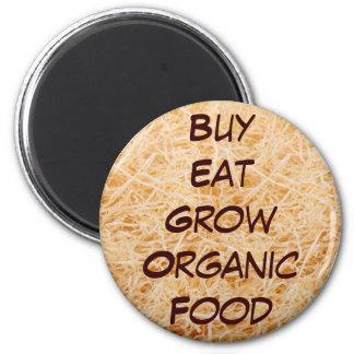 La compra come crece el imán orgánico