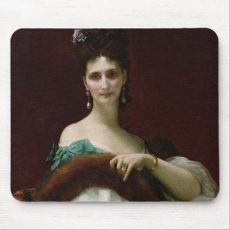 La Comtesse de Keller, 1873 Mouse Pad