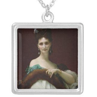 La Comtesse de Keller, 1873 Silver Plated Necklace
