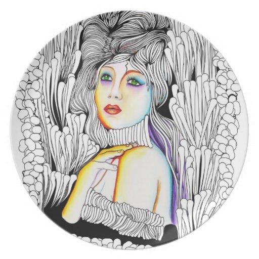 La Comtesse del Mademoiselle Platos De Comidas