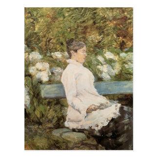 La Comtesse Toulouse Loutrec de la Lautrec-Señora  Tarjeta Postal