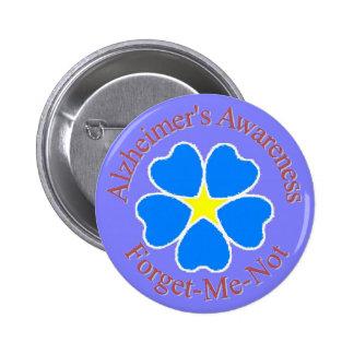 La conciencia de Alzheimer me olvida no el botón r