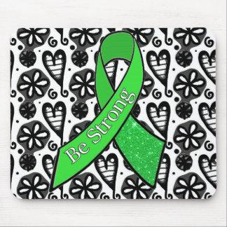 La conciencia de la enfermedad de Lyme sea cojín Mousepads