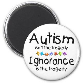 La conciencia del autismo no es la tragedia iman