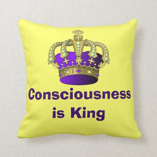 La conciencia es almohada cuadrada del rey