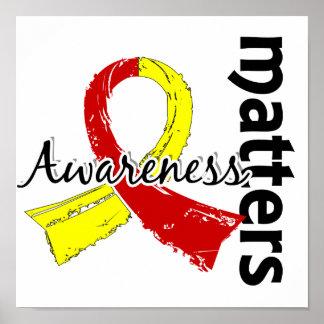La conciencia importa 7 la hepatitis C Posters