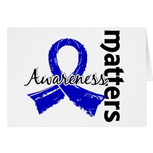 La conciencia importa 7 Spondylitis Ankylosing Tarjeta