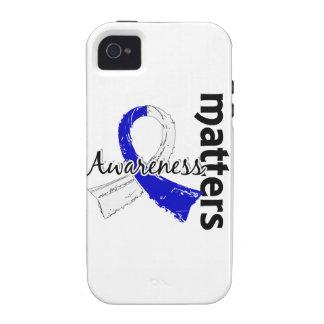 La conciencia importa ALS 7 Vibe iPhone 4 Carcasas
