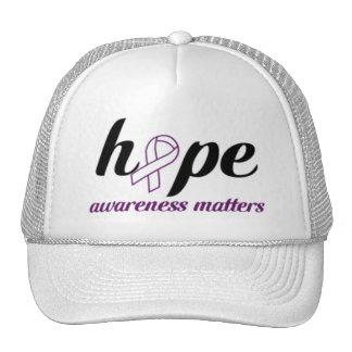 La conciencia importa casquillo gorras