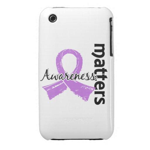 La conciencia importa el cáncer 7 (general) Case-Mate iPhone 3 carcasa
