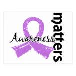 La conciencia importa el cáncer 7 (general) postal