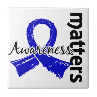 La conciencia importa la enfermedad de 7 Huntingto Azulejo