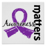 La conciencia importa la enfermedad de Alzheimer 7 Póster
