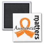 La conciencia importa la leucemia 7 imán de frigorifico
