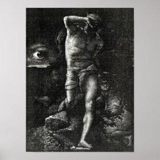 La conciencia o, el ojo que mira a Caín Póster