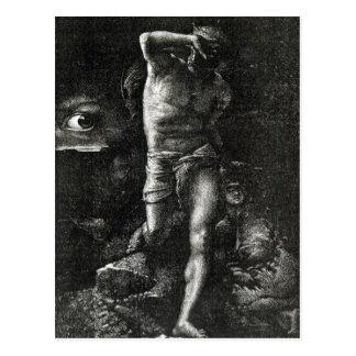 La conciencia o, el ojo que mira a Caín Postales