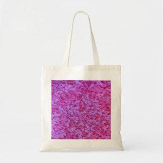 La conciencia rosada del cáncer de pecho de la bolsa tela barata
