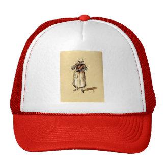 La Concierge by Honore Daumier Mesh Hat