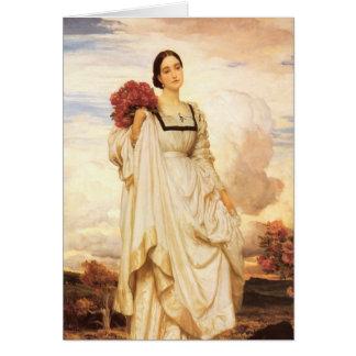 La condesa Brownlow, Federico Leighton Tarjeta Pequeña