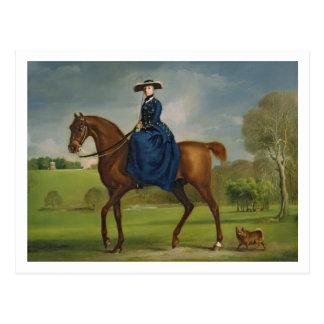 La condesa de Coningsby en el traje del Ch Tarjetas Postales