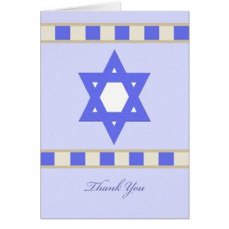 La condolencia judía le agradece tarjeta de felici