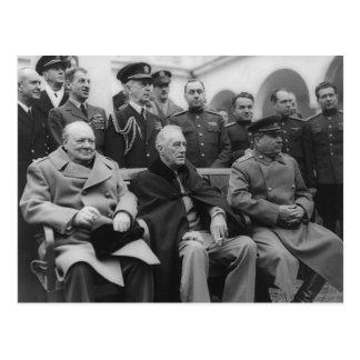 La conferencia de Yalta Postal