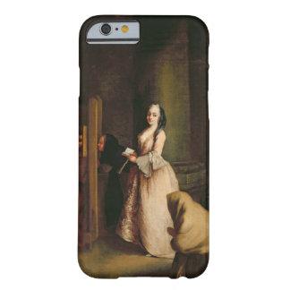 La confesión, c.1755 (aceite en lona) funda barely there iPhone 6