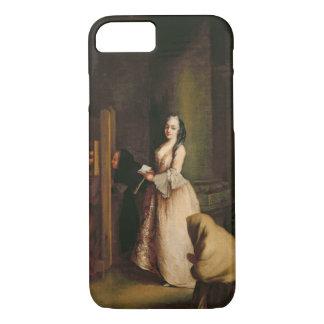 La confesión, c.1755 (aceite en lona) funda iPhone 7