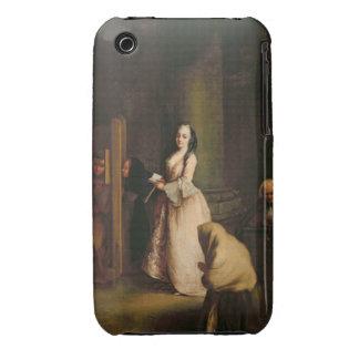 La confesión, c.1755 (aceite en lona) funda para iPhone 3 de Case-Mate