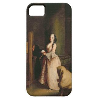 La confesión, c.1755 (aceite en lona) funda para iPhone SE/5/5s