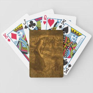 la confesión baraja cartas de poker