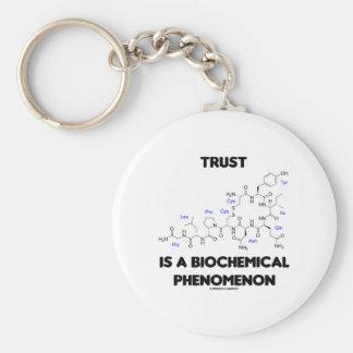 La confianza es un fenómeno bioquímico (la llavero redondo tipo pin