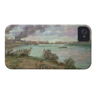 La confluencia del Sena y del Marne en Ivry Case-Mate iPhone 4 Cobertura