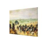 La confrontación, 1600 impresiones en lienzo estiradas