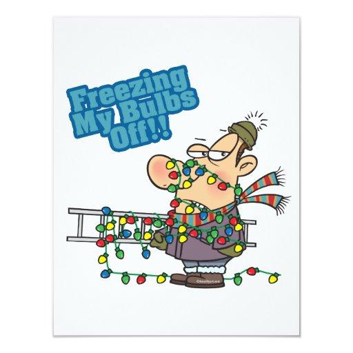 la congelación de mis bulbos de Navidad enciende Comunicado
