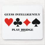 La conjetura juega inteligente el puente (cuatro j tapete de raton