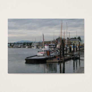 La Conner Barge Business Card