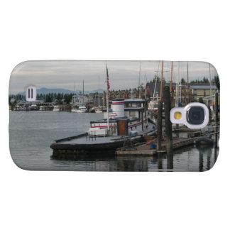 La Conner Barge Galaxy S4 Case