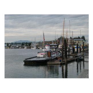 La Conner Barge Postcard