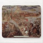La conquista de Tenochtitlan Alfombrillas De Raton