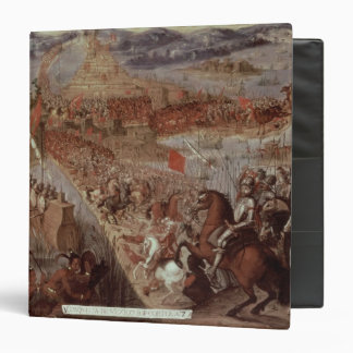 "La conquista de Tenochtitlan Carpeta 1 1/2"""