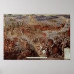 La conquista de Tenochtitlan Poster
