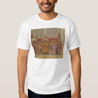 La consagración de la iglesia en Cluny Poleras