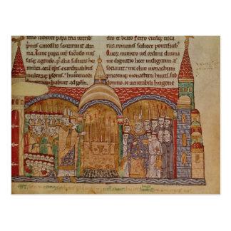 La consagración de la iglesia en Cluny Postales