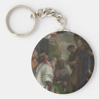 La consagración de San Nicolás de Paolo Veronese Llavero