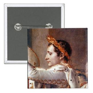 La consagración del emperador Napoleon 2 Pin Cuadrada 5 Cm