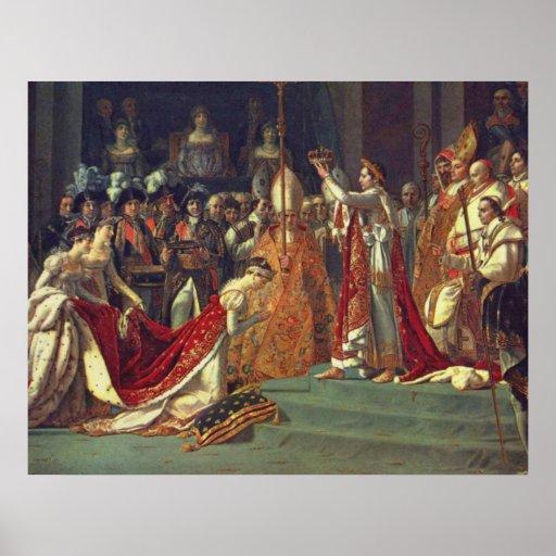 La consagración del emperador Napoleon l Impresiones